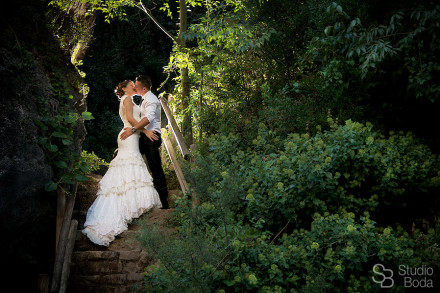 reportaje boda naturaleza