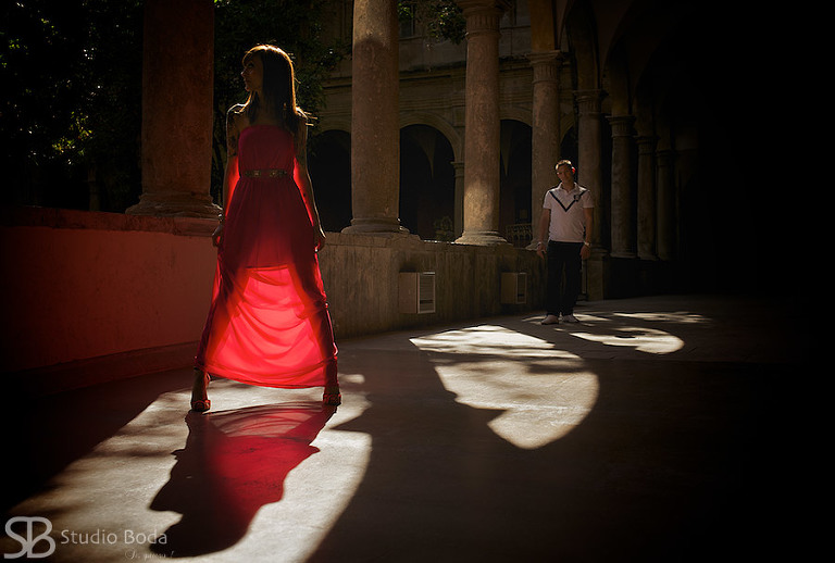fotografia creativa pareja