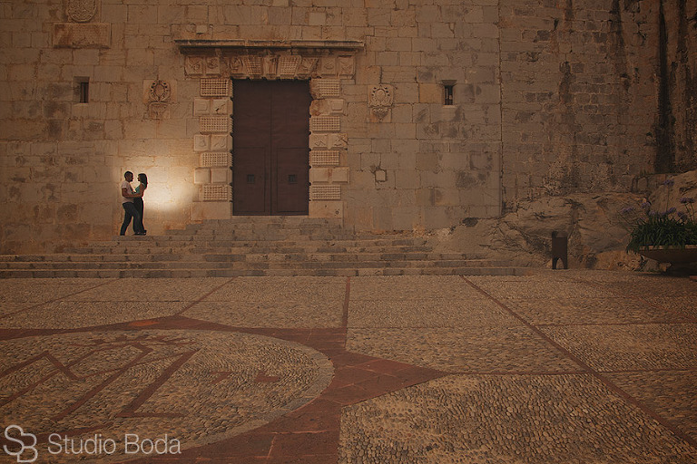 reportaje pareja castillo peniscola