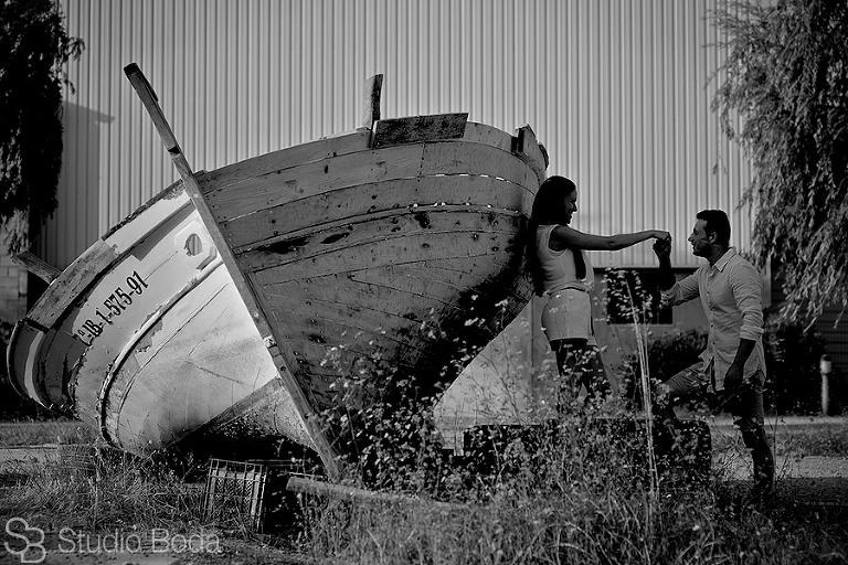 Pre-Boda Catarroja barco