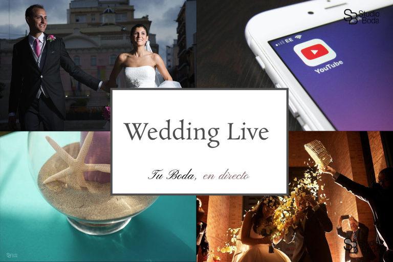 compartir boda en directo